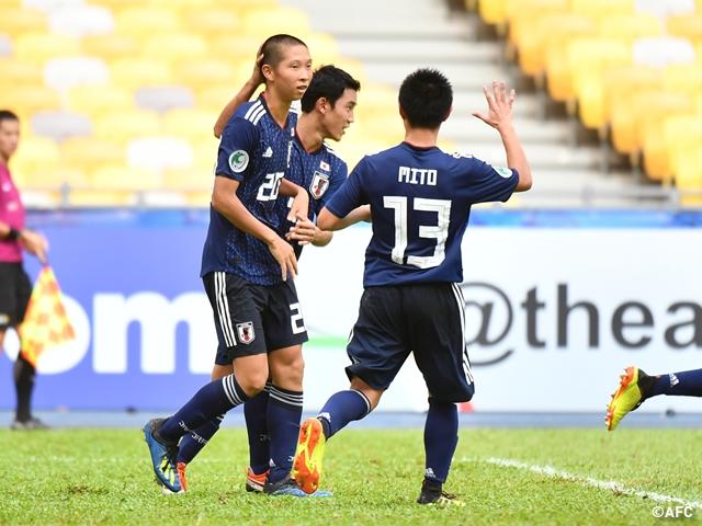 U-16日本代表、白星スタート ~AFC U-16選手権マレーシア2018 JFA