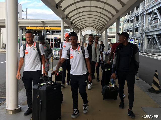 Panama National Team arrives to Japan ahead of KIRIN CHALLENGE CUP 2018