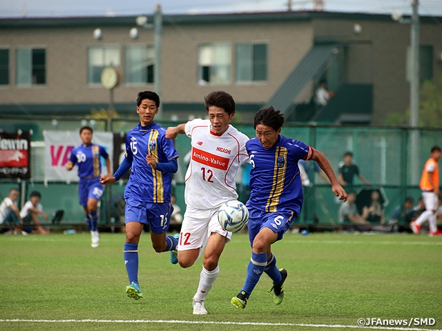 Hannan earns victory over their All Japan High School Athletic Federation rival in the 15th Sec. of Prince Takamado Trophy JFA U-18 Football Premier League WEST