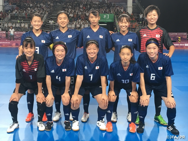 U-18 Japan Women s Futsal National Team earns a victory in their first ever  International. The 3rd Youth Olympic ... 29cc2e68a4