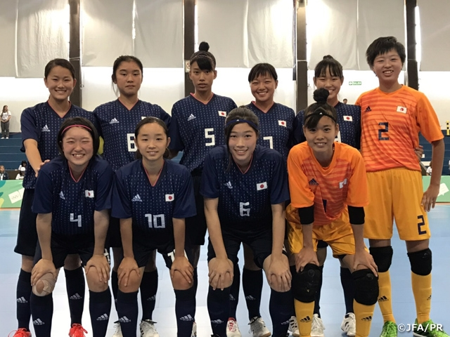 U-18 Japan Women s Futsal National Team defeats Chile to record back-to-.  The 3rd Youth Olympic ... 99467ce2d5