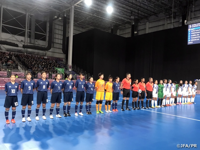 U-18 Japan Women s Futsal National Team secures spot into Semi-finals with  win. The 3rd Youth Olympic ... d759b29205