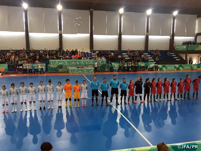 U-18 Japan Women s Futsal National Team advances to Semi-finals as group s  runners. The 3rd Youth Olympic ... 4836371fe3