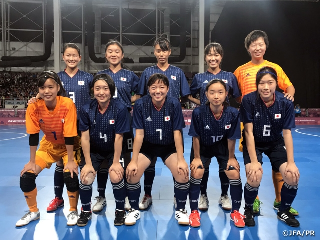 U-18 Japan Women s Futsal National Team advances to the Final with 3-2. The  3rd Youth Olympic ... 78d70182c7