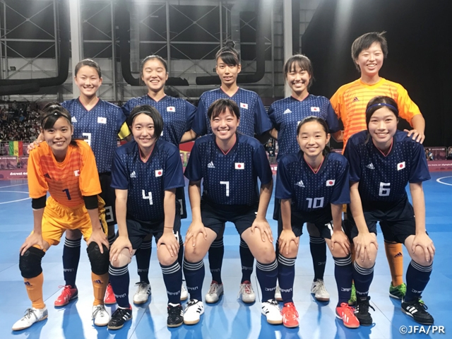 U-18 Japan Women s Futsal National Team wins silver medal at the 3rd Youth  Olympic 076b9ccc98