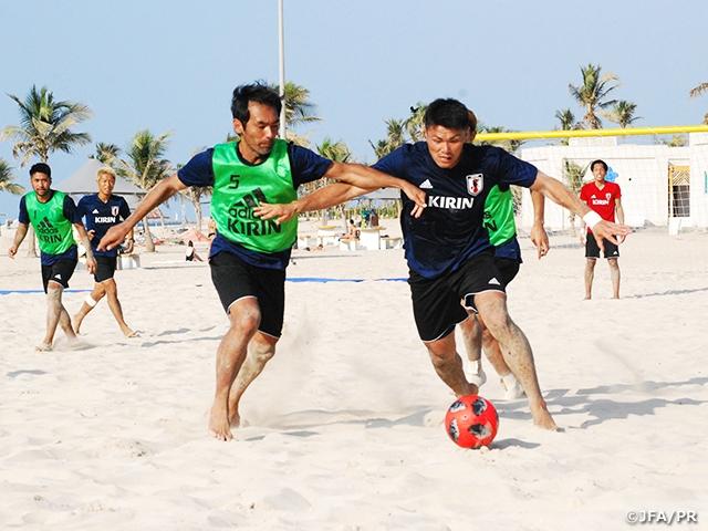 ビーチサッカー日本代表内容の濃いトレーニングで連戦に向けて準備 ~UAE遠征(10/28-11/8)~