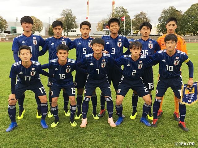 U-15日本代表、初戦を勝利で飾る...