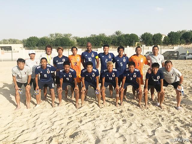 ビーチサッカー日本代表、UAEに6-5で勝利~UAE遠征(10/28-11/8)~