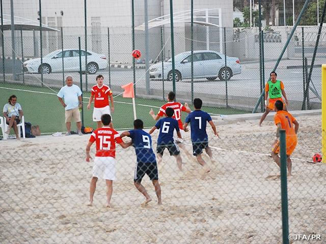 ビーチサッカー日本代表、ビーチサッカーロシア代表に2-4で敗れる~UAE遠征(10/28-11/8)~