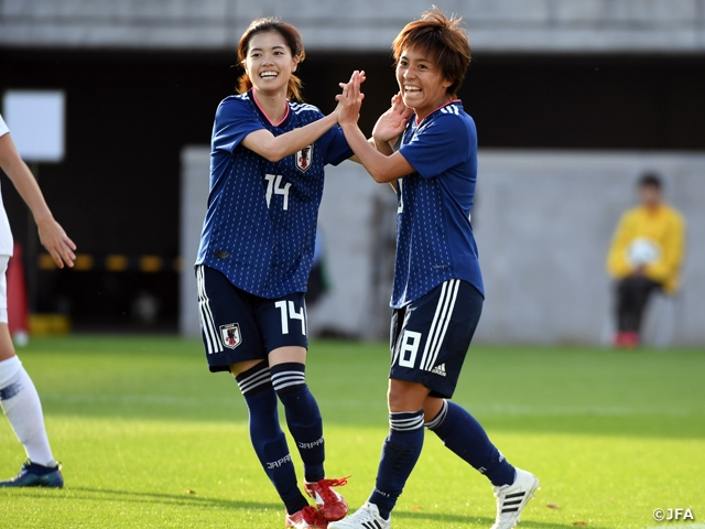 free shipping 3d46c 11ed2 Nadeshiko Japan finishes their final official match of 2018 ...