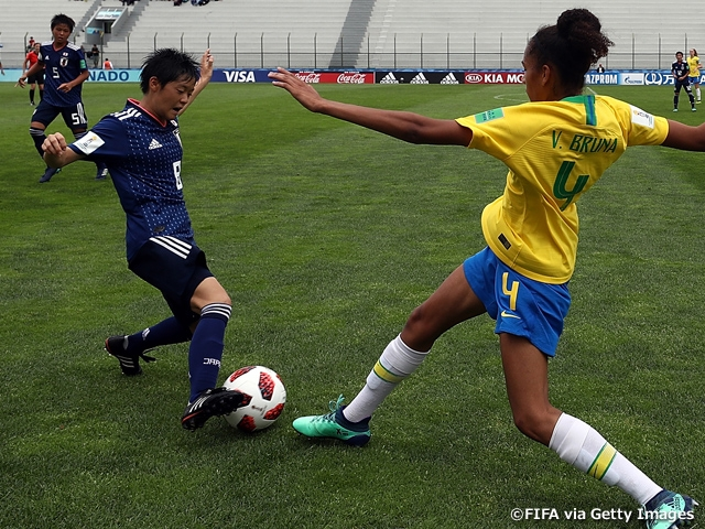 U-17 Japan Women s National Team shares a point with Brazil after a  scoreless draw f16cab8c8