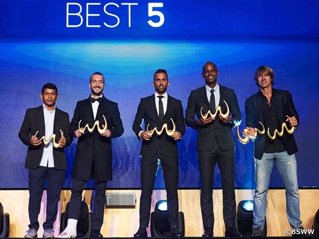 茂怜羅オズ選手、通算4回目のビーチサッカー世界年間ベスト5に選出