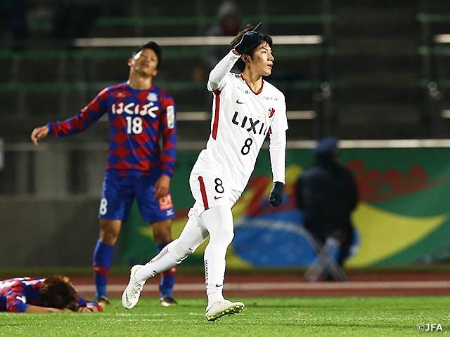 第98回天皇杯 準々決勝〜甲府vs...