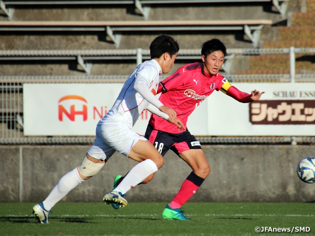 With the help of their young power, Cerezo Osaka U-18 defeats Higashi Fukuoka at the 16th Sec. of Prince Takamado Trophy JFA U-18 Football Premier League WEST