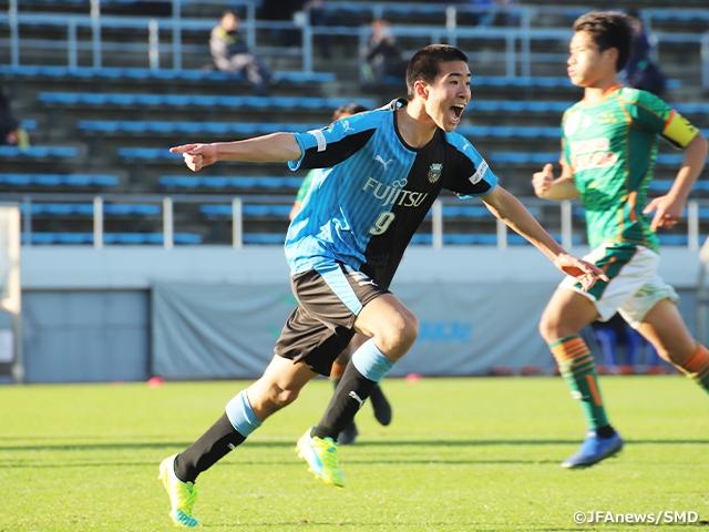 FC東京深川、川崎が僅差のゲーム...