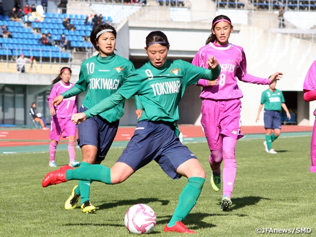 Tokiwagi Gakuen advances through 1st Round of the 27th All Japan High School Women's Football Championship