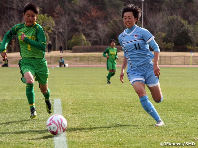 Jumonji and Seisa Kokusai among the teams advancing to Semi-Finals of the 27th All Japan High School Women's Football Championship