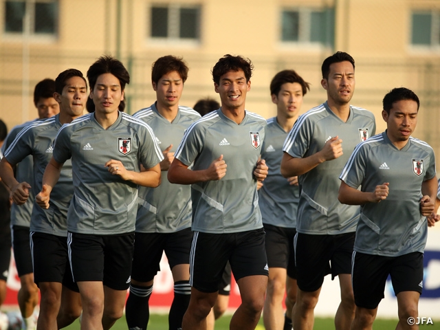 SAMURAI BLUE goes over team tactics in training session behind closed doors – AFC Asian Cup UAE 2019 (1/5-2/1)