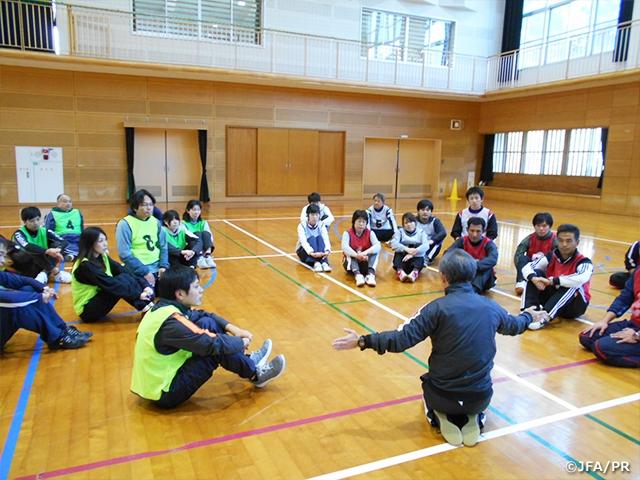 小学校体育サポート研修会を佐賀...
