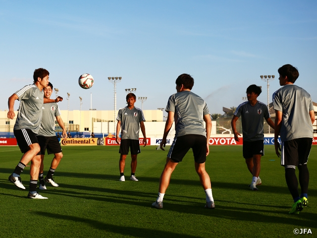 SAMURAI BLUE holds training session behind closed doors ahead of match against Oman – AFC Asian Cup UAE 2019 (1/5-2/1)