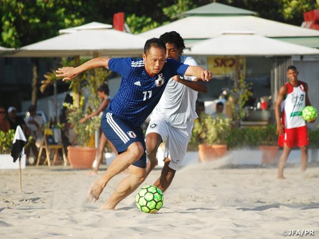 ビーチサッカー日本代表 地元クラブのボタフォゴに敗れる