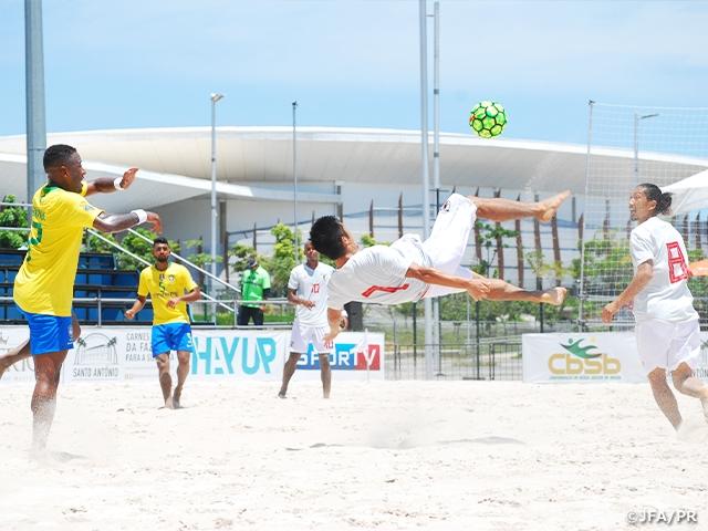 ビーチサッカー日本代表、ブラジルに1-5で敗れる