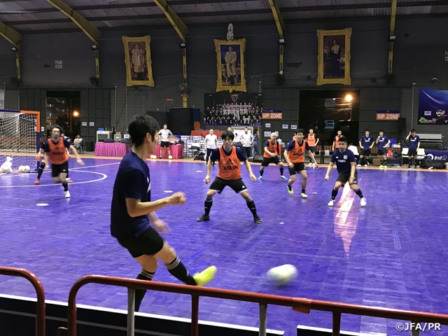 Japan Futsal National Team begins training in Bangkok ahead of International Friendly Match against Thailand Futsal National Team