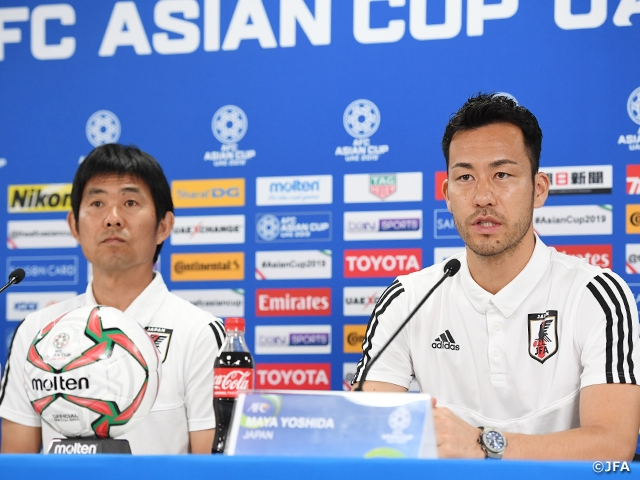 Coach Moriyasu of SAMURAI BLUE shows confidence in players' performance ahead of Tournament Final against Qatar – AFC Asian Cup UAE 2019 (1/5-2/1)