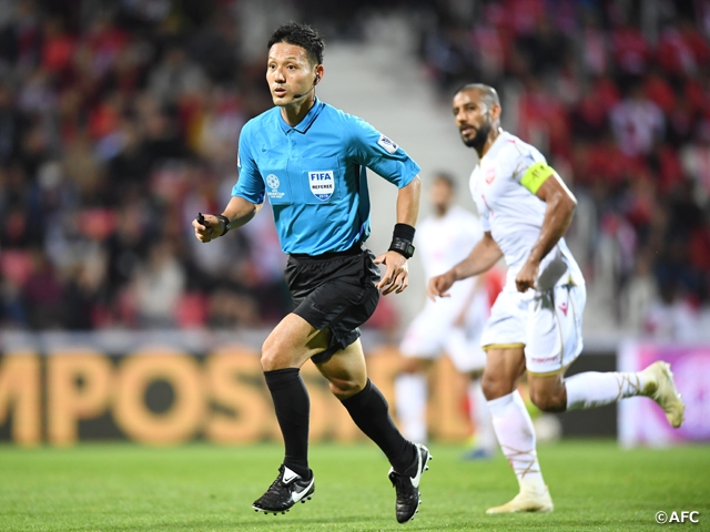 AFC Asian Cup UAE 2019 Reviewed by the Referees in charge