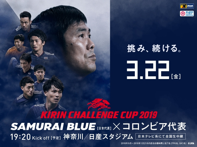 Colombia National Team Travel Squad - KIRIN CHALLENGE CUP 2019 (3/22 @Kanagawa)