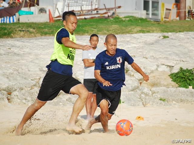 ビーチサッカー日本代表候補、沖縄でAFCビーチサッカー選手権 タイ2019前最後の選考合宿を終える