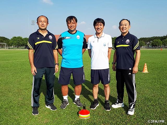 カンボジアへの日本人派遣指導者が4名に|JFA|公益財団法人日本 ...