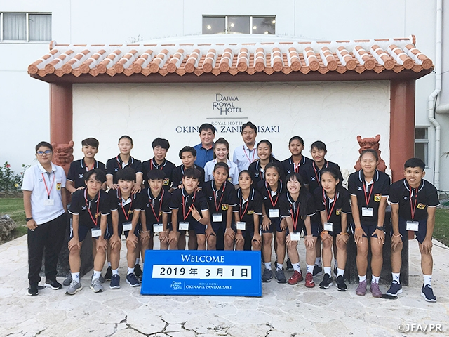 JENESYS 2018 Japan-ASEAN U-19 Women Football Tournament Kicks-Off