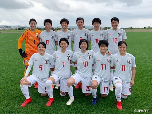 U-19 Japan Women's National Team draws with Myanmar at JENESYS 2018 Japan-ASEAN U-19 Women Football Tournament