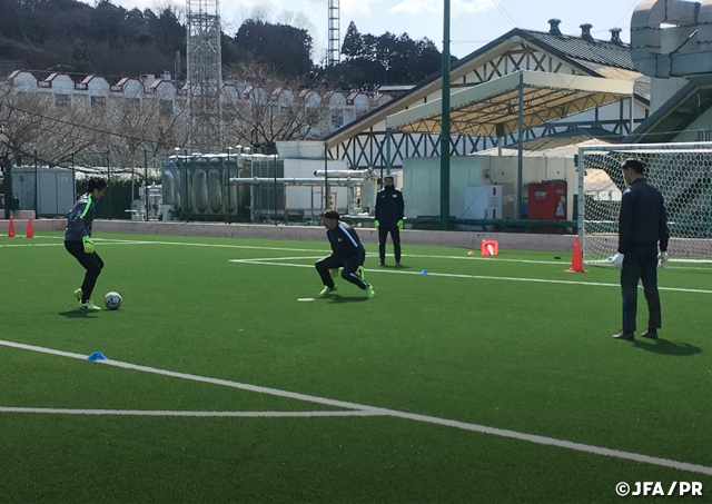 JFA GK Project Workshop took place in Gotemba 131d99aafe8