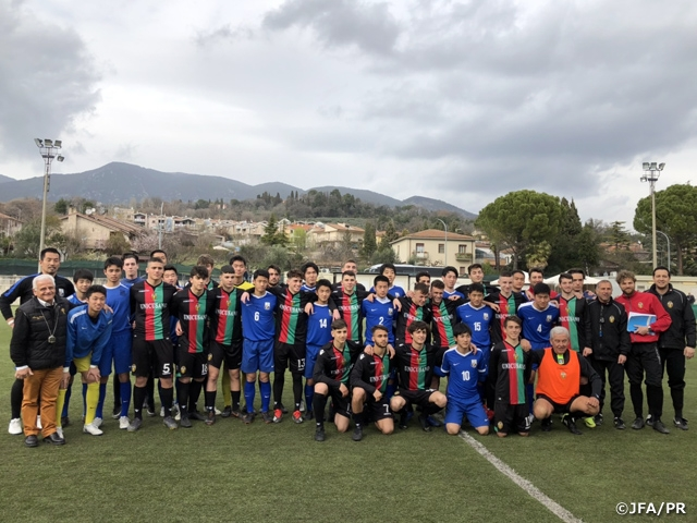 JFA Academy Fukushima Boy's Entrance Class of 2014 conducts Italy Tour