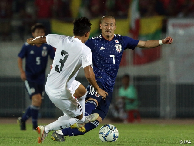 U-22 Japan National Team registers 3 consecutive victories to qualify for AFC U-23 Championship Thailand 2020