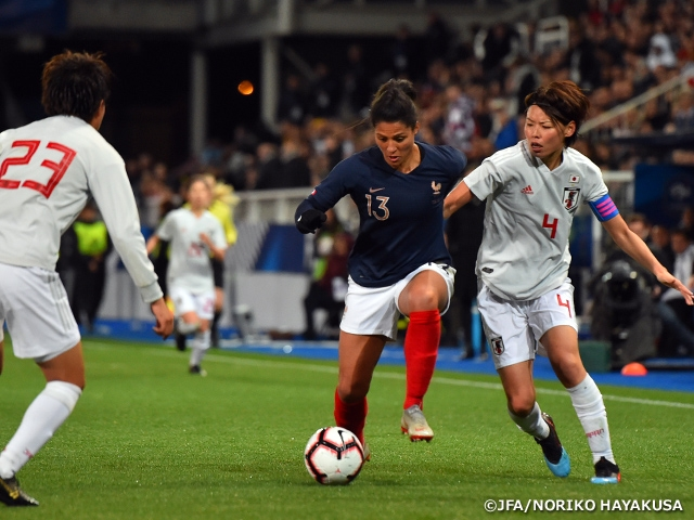 Nadeshiko Japan loses to France 1-3 in their Europe Tour (4/1-11@France, Germany)