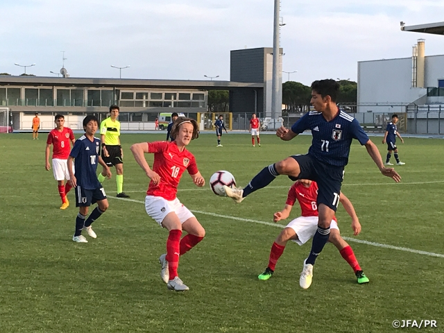 U-15 Japan National Team wins over Austria to advance to the Final of the 16th Delle Nazioni Tournament