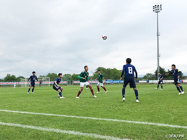 U-15 Japan National Team finishes as Runners-up after losing close match to Mexico at the 16th Delle Nazioni Tournament