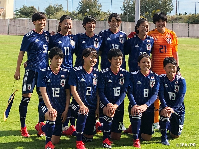 U-19 Japan Women's National Team scores 11 goals in win over Gabon – The 2nd SUD Ladies Cup