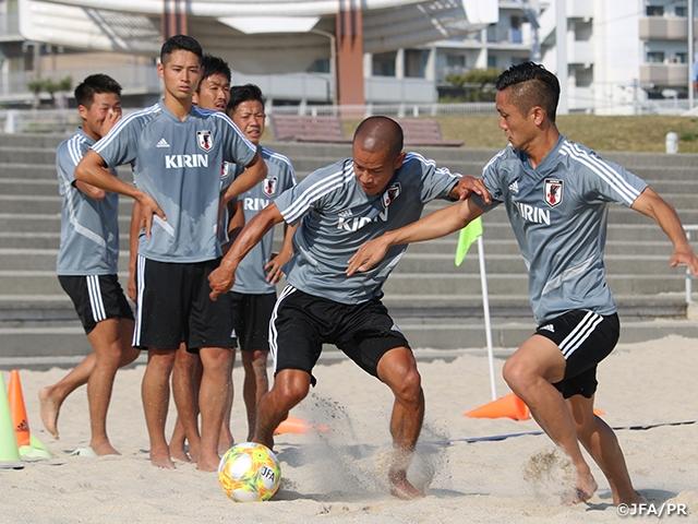 ビーチサッカー日本代表候補、11月のワールドカップに向けて活動をスタート