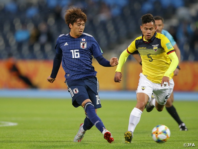 U-20 Japan National Team starts off tournament with 1-1 draw against Ecuador at the FIFA U-20 World Cup Poland 2019