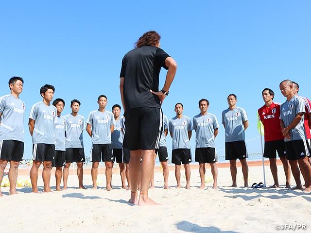 ビーチサッカー日本代表候補、明石での3日間の強化合宿を終える