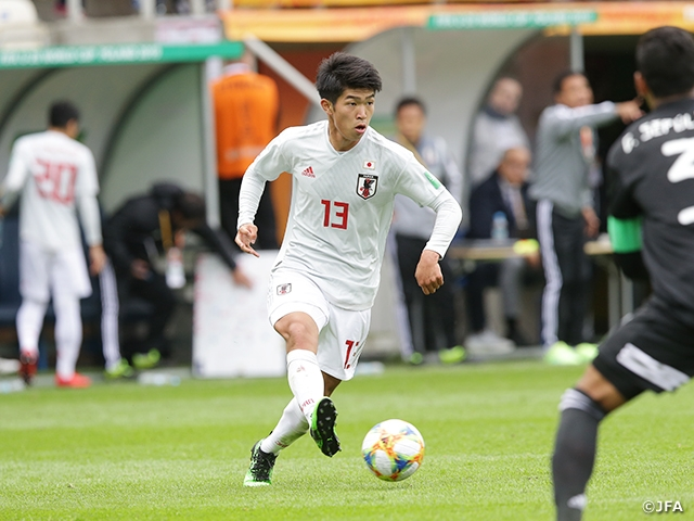 U-20 Japan National Team wins over Mexico 3-0 to earn pivotal 3 points at the FIFA U-20 World Cup Poland 2019