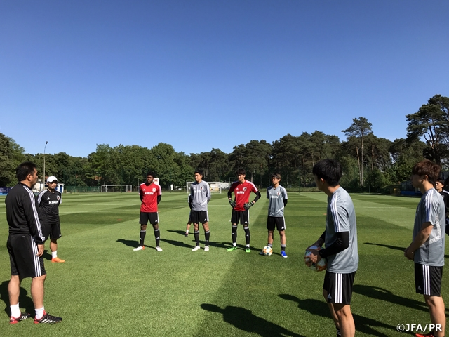 U-20 Japan National Team resumes trainings following match against Italy at the FIFA U-20 World Cup Poland 2019