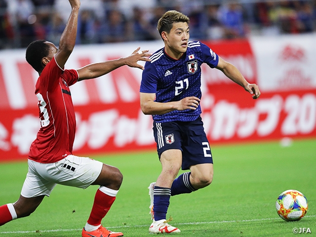 SAMURAI BLUE tests new system in scoreless draw against Trinidad and Tobago at the KIRIN CHALLENGE CUP 2019 (6/5 @Aichi)