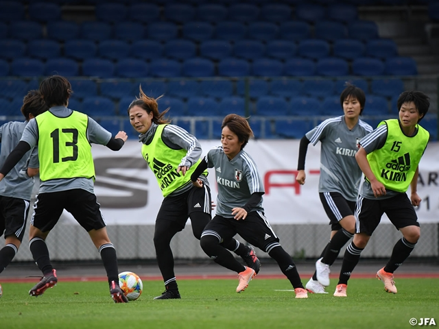 Nadeshiko Japan resumes training ahead of match against Argentina at the FIFA Women's World Cup France 2019
