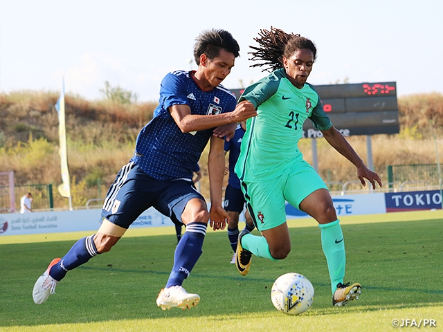 Despite losing to Portugal, U-22 Japan National Team advances to Semi-Finals of the 47th Toulon International Tournament 2019