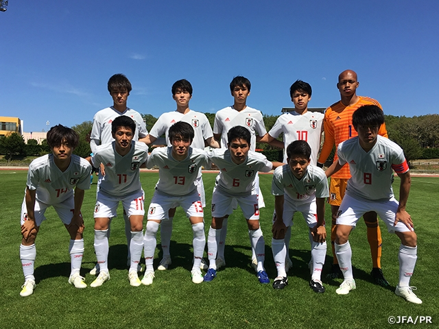 U-18 Japan National Team plays training match - The 25th Lisbon International Tournament U18